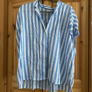 Collared Striped Shirt.